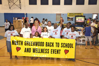 North Greenwood Back 2 School and Wellness Event Volunteer