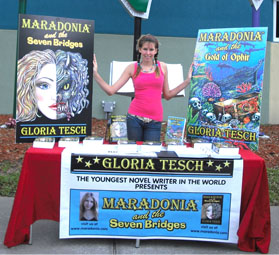 Gloria Tesch, The World's Youngest Published Novelist
