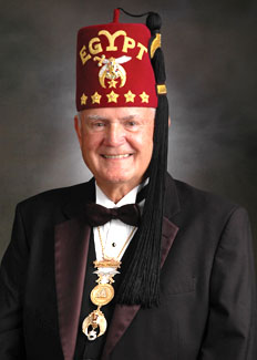 Jack H. Jones the New Imperial Potentate of the Shriners