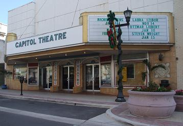 The Capitol Theatre was recently named a historical landmark by the Clearwater City Council - Photo by Heidi Lux