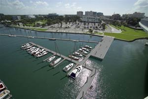 Clearwater Downtown Boat Slips Rendering