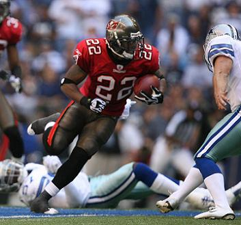 Clifton Smith, the Kick Return Specialist for the Tampa Bay Buccaneers