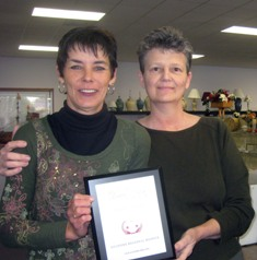 Gulfside Regional Hospices Thrift Shoppe in Dade City Received a 2008 Best of Dade City Award