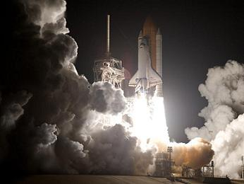 The Space Shuttle Discovery is Launched from NASA's Kennedy Space Center