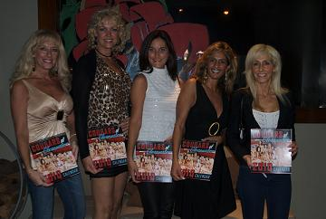 Some of the Cougars of Clearwater at a Recent Calendar Signing - Photo by RGP Media