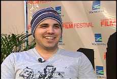 Adam Sigal at the Gasparilla Film Festival