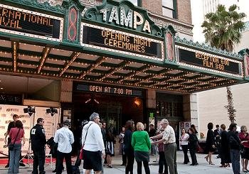 The Tampa Theatre - Photo by Andrea Lypka