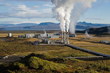 A utility-grade geothermal energy plant in Iceland, which derives 26.5 percent of its electricity needs from the technology - Photo By Gretar Ivarsson