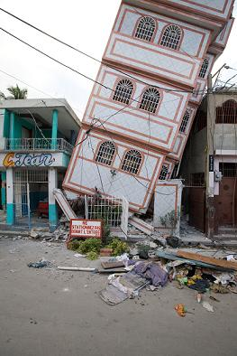 Earthquake Damage in Haiti - Photo by Brad Kugler