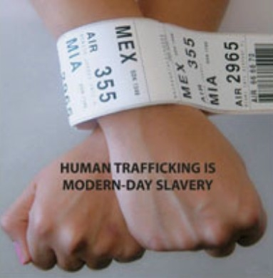 Human Traffiking is Modern Day Slavery