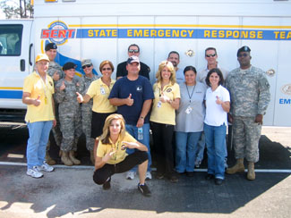 Volunteer Ministers Recieved Training from the National Florida Guard in Orlando