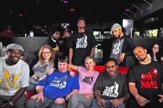 The Cast of Got Jokes? Improv Comedy Group