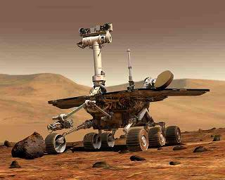 Mars Rover Opportunity Finds Clue to Mars's Past