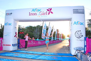 Maria Ghizzoni won 1st place at this year's Iron Girl Women's 5k race. - Photo by Wayne   Cathel