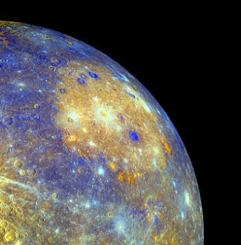 The surface of Mercury as photographed by MESSENGER