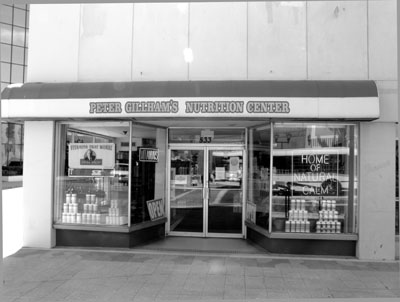 Peter Gillham's Nutrition Center on Cleveland Street