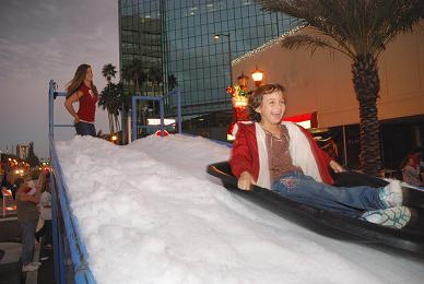 This year's Miracle on Cleveland Street will include an additional snow slide to bring Christmas cheer to children - Photo by David Ziff