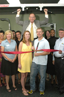 Anytime Fitness Ribbon Cutting
