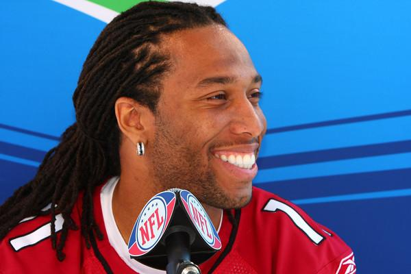 Larry Fitzgerald #1 WR. Photo by Wayne Cathel.