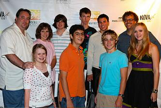 Graduates of the Sunscreen Film Festival Summer Camp