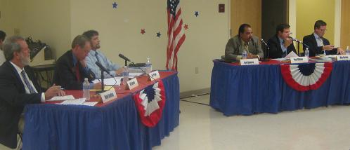 The Clearwater City Council Candidates during a recent election forum - Photo by Joshua T. Gillion