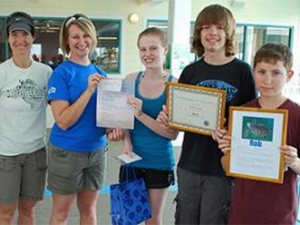 Middle School Students Donate $650 to Clearwater Marine Aquarium's Rescued Sea Turtles